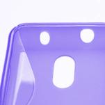 Gélové S-line puzdro na Nokia Lumia 620- fialové - 4/5