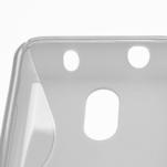 Gélové S-line puzdro na Nokia Lumia 620- transparentný - 4/5