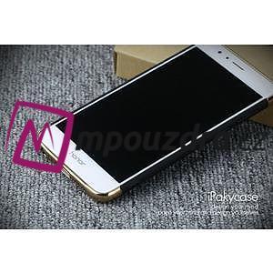 Luxusní odolný obal 3v1 na mobil Honor 8 - čierny - 4