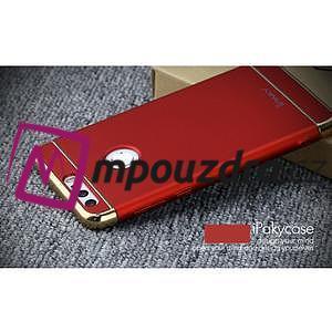 Luxusné odolný obal 3v1 pre mobil Honor 8 - červený - 4