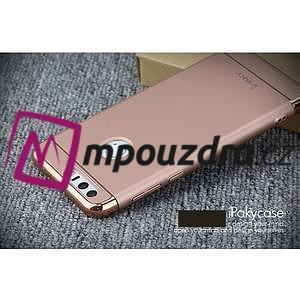 Luxusné odolný obal 3v1 pre mobil Honor 8 - zlatoružový - 4