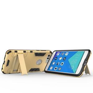 Outdoor odolný obal pre mobil Honor 8 - zlatý - 4