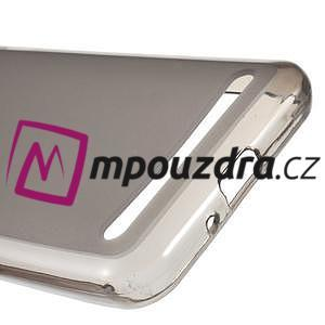 Matný gelový obal na Huawei Y3 II - šedý - 4