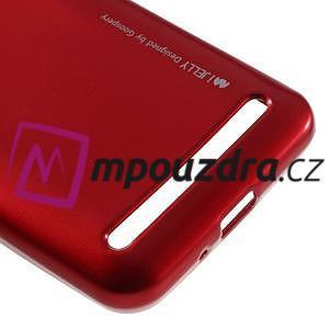 Luxusní gélový obal na mobil Huawei Y3 II - červený - 4
