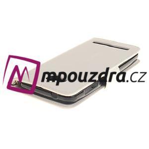 Dandelion PU kožené puzdro na mobil Huawei Y3 II - biele - 4