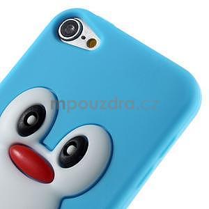 Penguin silikónový obal na iPod Touch 6 / iPod Touch 5 - svetlomodrý - 4