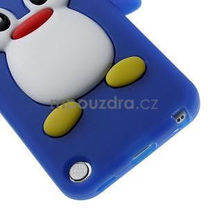 Penguin silikónový obal pre iPod Touch 6 / iPod Touch 5 - tmavomodrý - 4