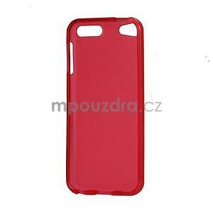Matte gélový obal na iPod Touch 5 a iPod Touch -  červený - 4