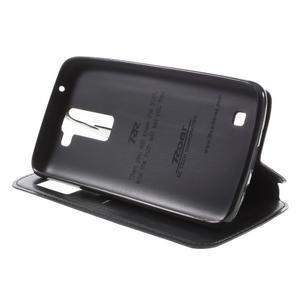 Richi PU kožené puzdro pre mobil LG K8 - čierne - 4