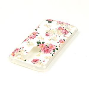Jells gelový obal na LG K8 - květiny - 4