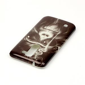 Emotive gélový obal pre mobil LG K8 - opičák - 4