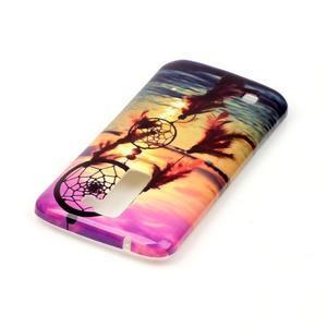 Emotive gélový obal pre mobil LG K8 - snívanie - 4