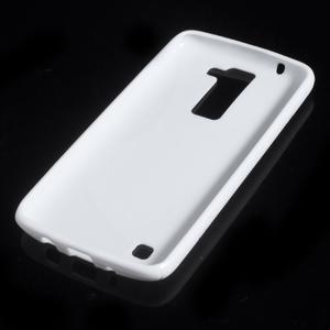 S-line gelový obal na LG K8 - bílý - 4