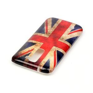 Emotive gélový obal pre mobil LG K8 - UK vlajka - 4