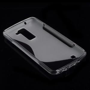 S-line gélový obal pre LG K8 - transparentný - 4