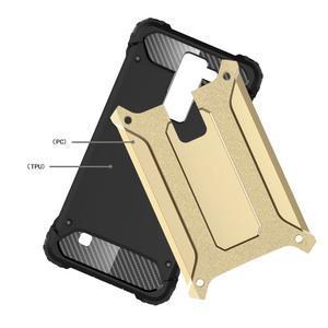 Armory odolný obal pre mobil LG K8 - zlatý - 4