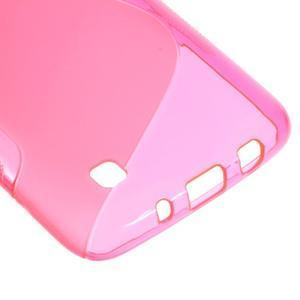 S-line gélový obal pre LG K8 - rose - 4