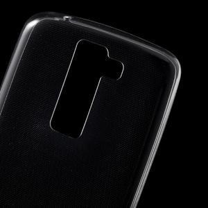 Ultratenký gélový obal pre mobil LG K8 - transparentný - 4