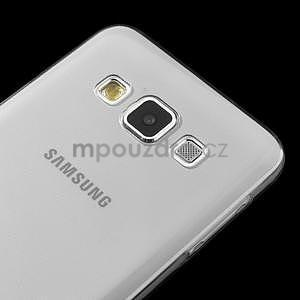 Slim obal pre Samsung Galaxy A3    - šedé - 4