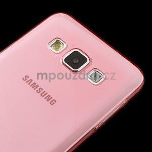 Slim obal na Samsung Galaxy A3 - červené - 4