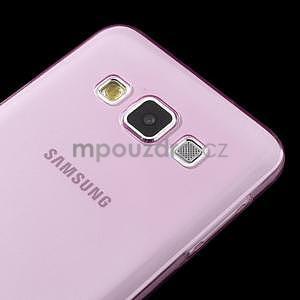 Slim obal pre Samsung Galaxy A3 - ružové - 4