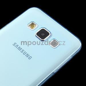 Slim obal pre Samsung Galaxy A3    - svetlo modré - 4