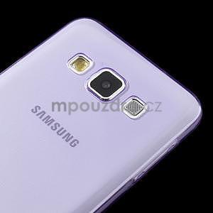 Slim obal na Samsung Galaxy A3 - fialové - 4