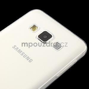 Slim obal na Samsung Galaxy A3 - transparentný - 4