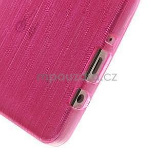 Broušený gélový obal Samsung Galaxy A5 - rose - 4