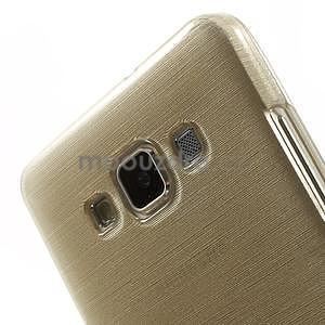 Broušený gélový obal Samsung Galaxy A5 - chamapgne - 4