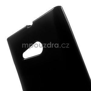 Gélový obal pre Nokia Lumia 730 a Lumia 735 - čierny - 4