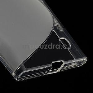 Gélový s-line obal pre Nokia Lumia 730 a Lumia 735 - transparentný - 4