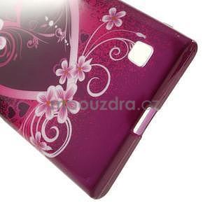 Gélové puzdro na Nokia Lumia 730 a Lumia 735 - srdce - 4