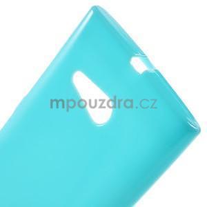 Gélový obal pre Nokia Lumia 730 a Lumia 735 - tyrkysový - 4