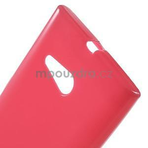 Gélový obal na Nokia Lumia 730 a Lumia 735 - rose - 4