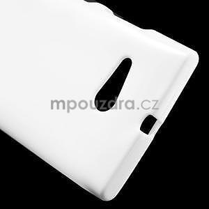 Gélový obal pre Nokia Lumia 730 a Lumia 735 - biely - 4