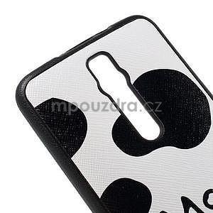 Gélový kryt s imitáciou vrúbkované kože pre Asus Zenfone 2 ZE551ML -  fish - 4