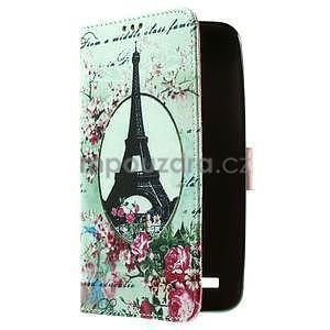 Zapínacie peňaženkové puzdro pre Asus Zenfone 2 ZE551ML - Eiffelova veža - 4