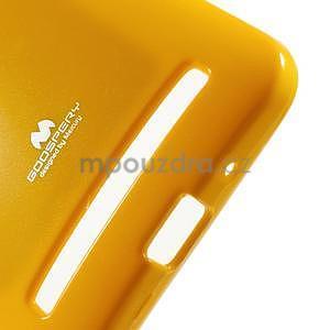 Gélový obal na Asus Zenfone 2 ZE551ML - žltý - 4