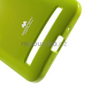 Gélový obal na Asus Zenfone 2 ZE551ML - zelený - 4
