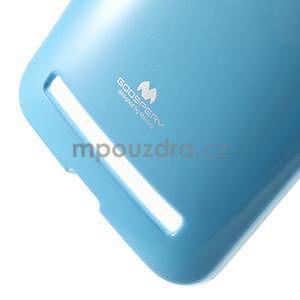 Gélový obal pre Asus Zenfone 2 ZE551ML - svetlomodrý - 4