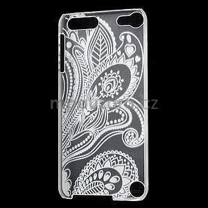 Plastový obal pre iPod Touch 5 - kvet - 4