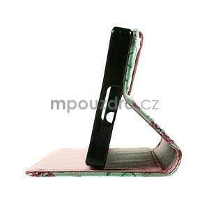 Peňaženkové PU kožené puzdro Lenovo Vibe X2 - Eiffelova veža - 4