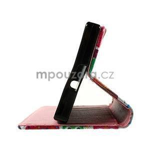 Peňaženkové PU kožené puzdro Lenovo Vibe X2 - Sovičky - 4