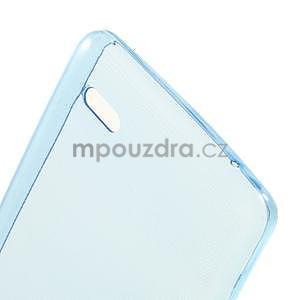 Gélový slim obal pre Lenovo A536 - modrý - 4