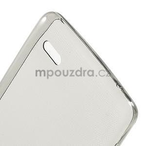 Gélový slim obal pre Lenovo A536 - šedý - 4