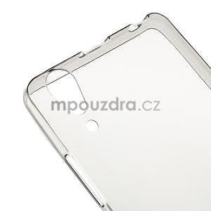 Gélový slim obal na Lenovo A6000 - šedé - 4