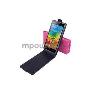 Flipové puzdro pre mobil Lenovo Vibe X2 - rose - 4