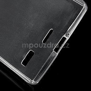 Gélový kryt na Lenovo Vibe X2 - transparentný - 4