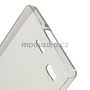 Gélový kryt pre Lenovo Vibe X2 - šedý - 4